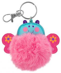 Pom Pom Critter Key Chain